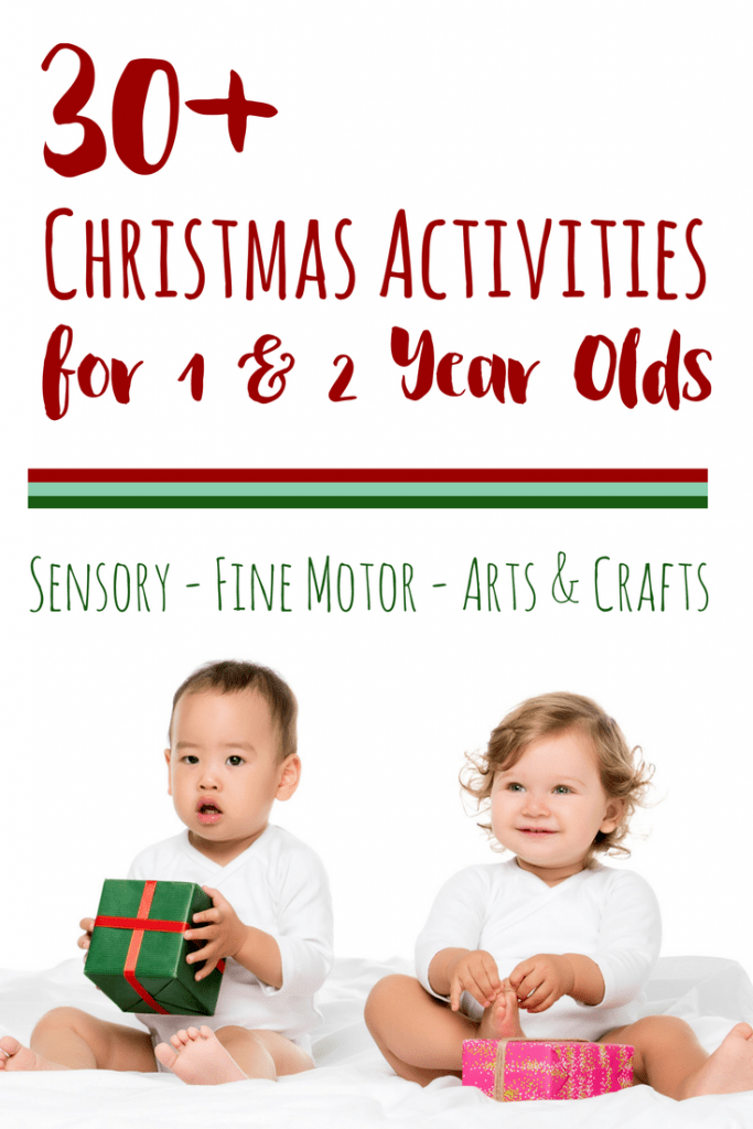 30+ christmas activities for 1 year olds
