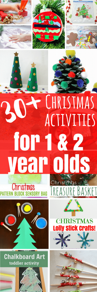 30 Christmas Activities For 1 And 2 Year Olds Views From