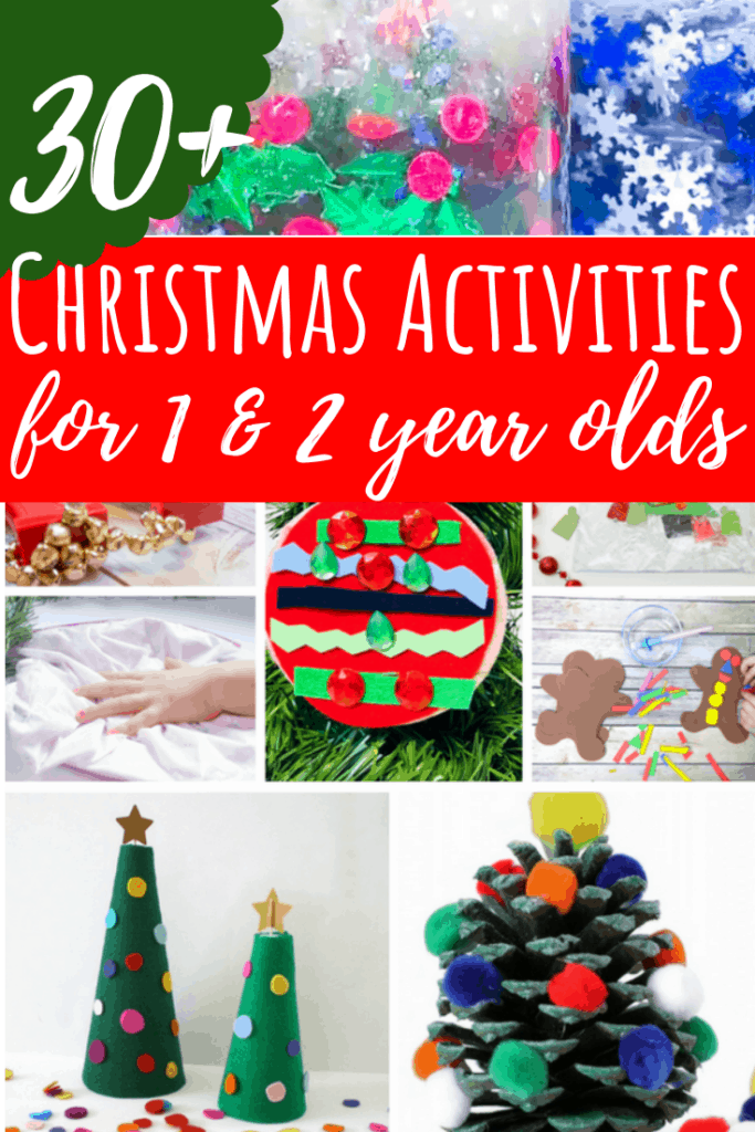 30 Christmas Activities For 1 And 2 Year Olds Views From A Step Stool