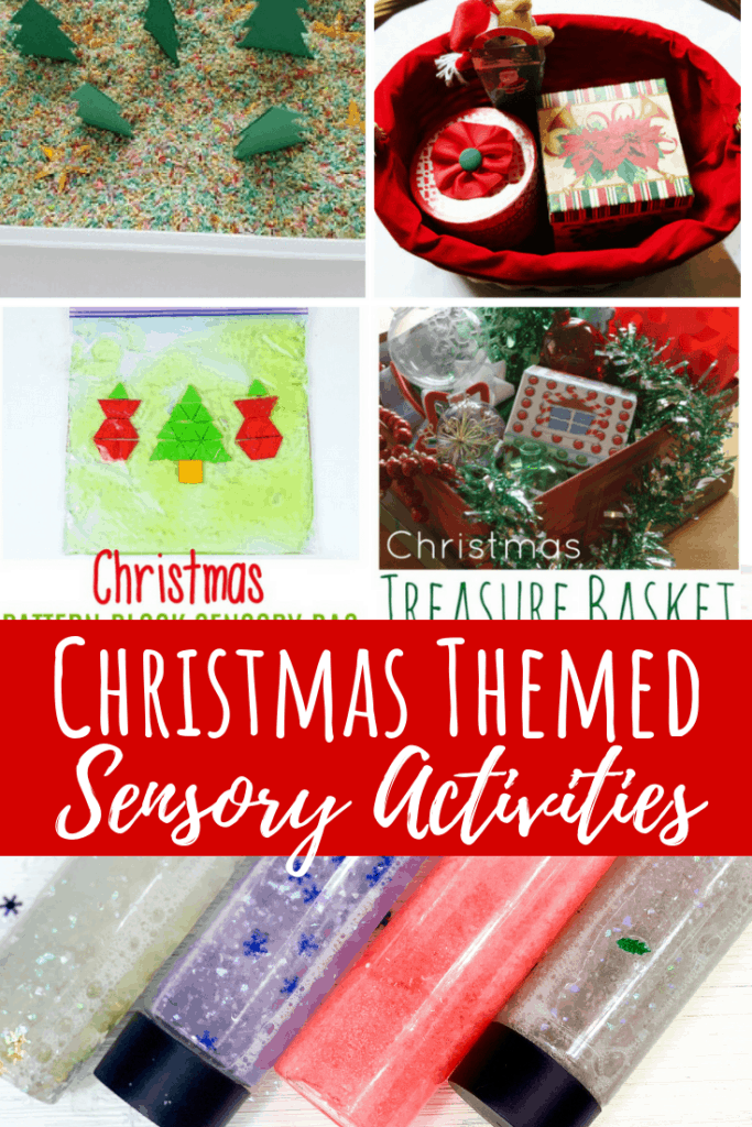 christmas activities 1 year olds sensory