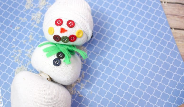Scented Snowman Sock Buddy