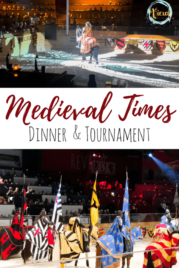 Medieval Times review pin