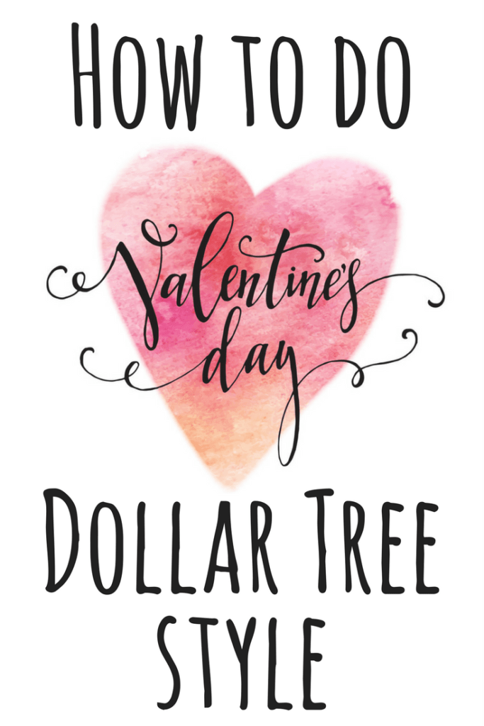 Valentines day dollar tree pin 1