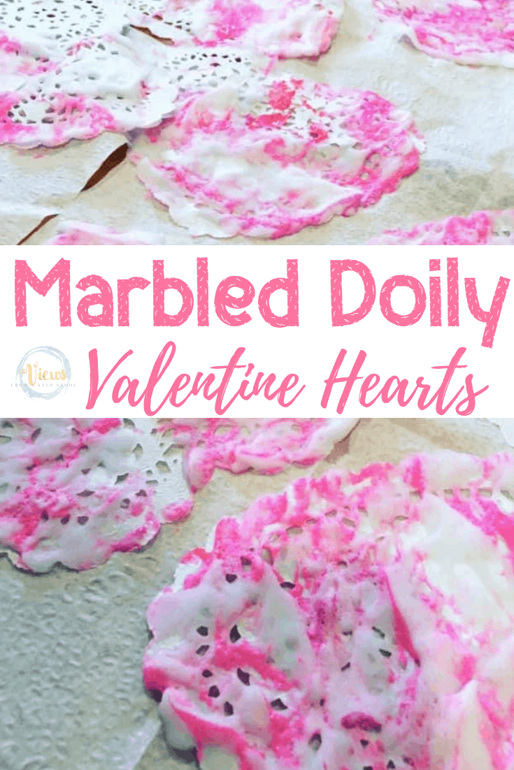 Marbled Hearts: Process Art for Kids