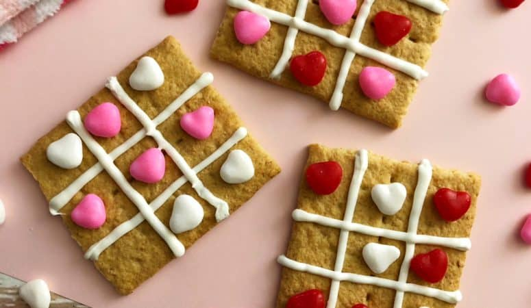 Tic-Tac-Toe Valentine's Day Treat