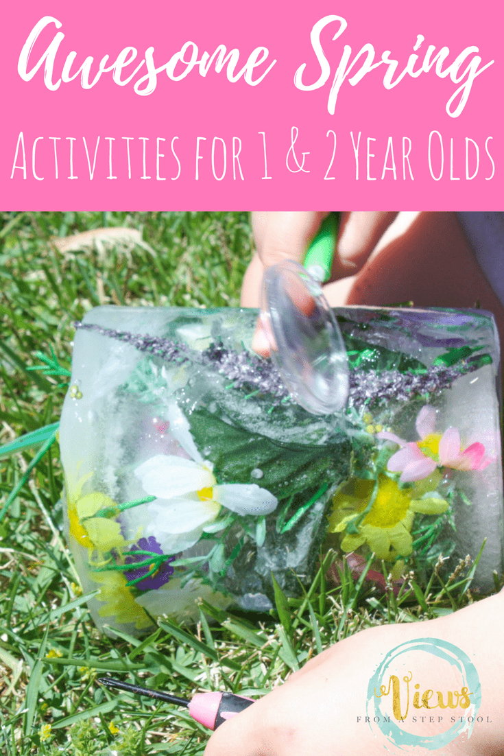 40+ Spring activities for 1 year olds