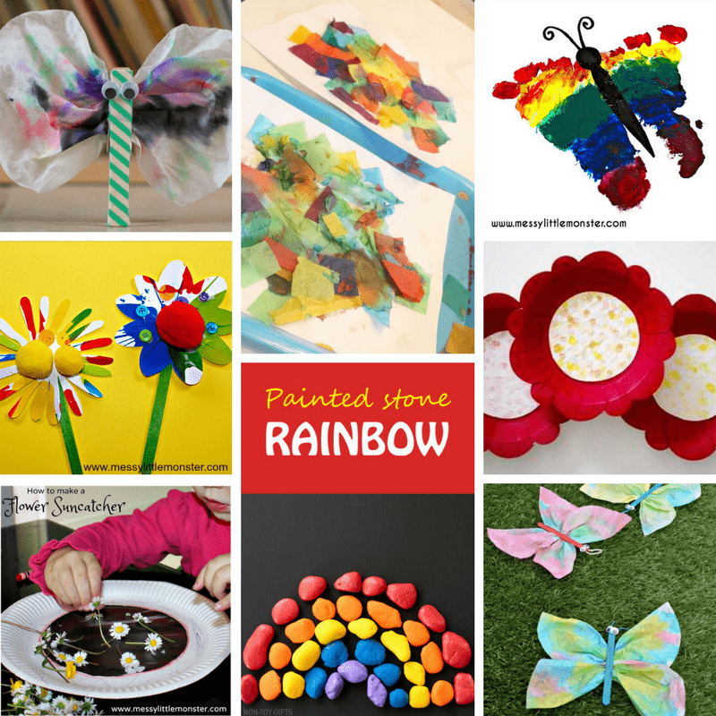 spring art activities for 1 year olds