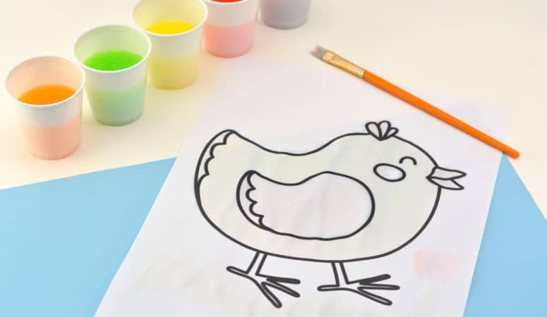 DIY Watercolors Made from Skittles Candy