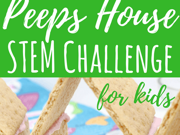 Peeps House STEM Challenge for Big Kids