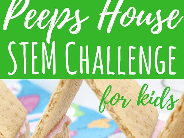 Peeps House STEM Challenge for Big Kids