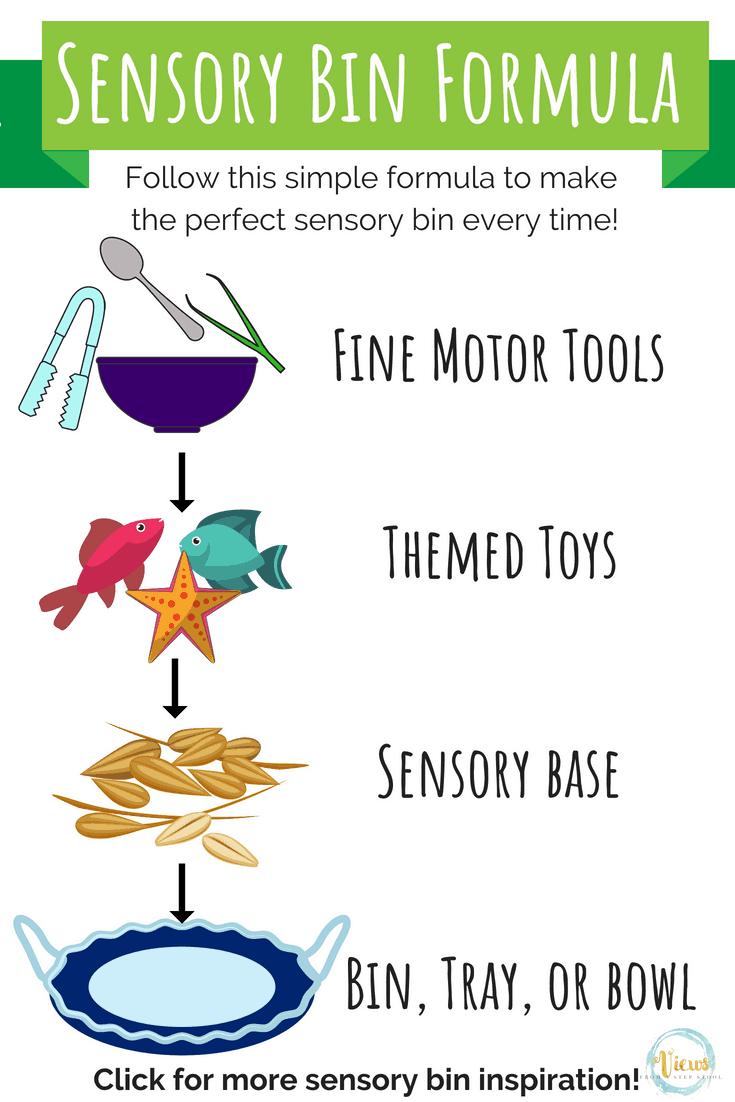 Sensory Bin Formula pin