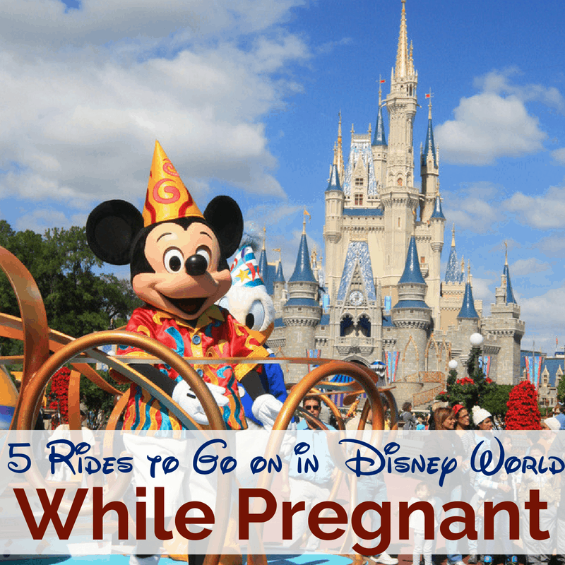 Here are 5 fun rides that you can still enjoy if you are pregnant at Disney World. There are a couple to stay away from, but can for sure be a great trip! #disneyworld #disneywithkids #pregnantatdisney #ridesatdisney