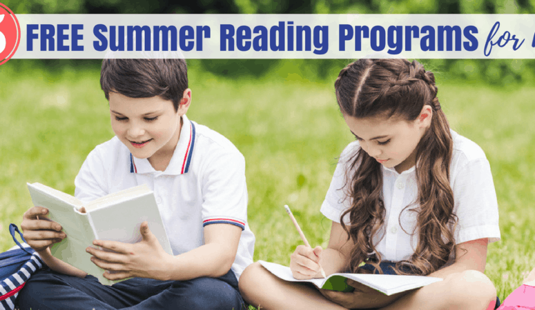 5 Summer Reading Programs Free to Kids