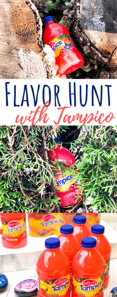 Tampico juice hidden in backyard