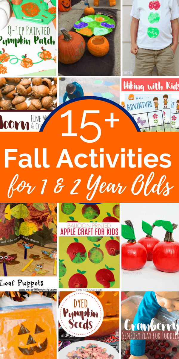15 Fall Activities For 1 Year Olds And 2 Year Olds Views From A