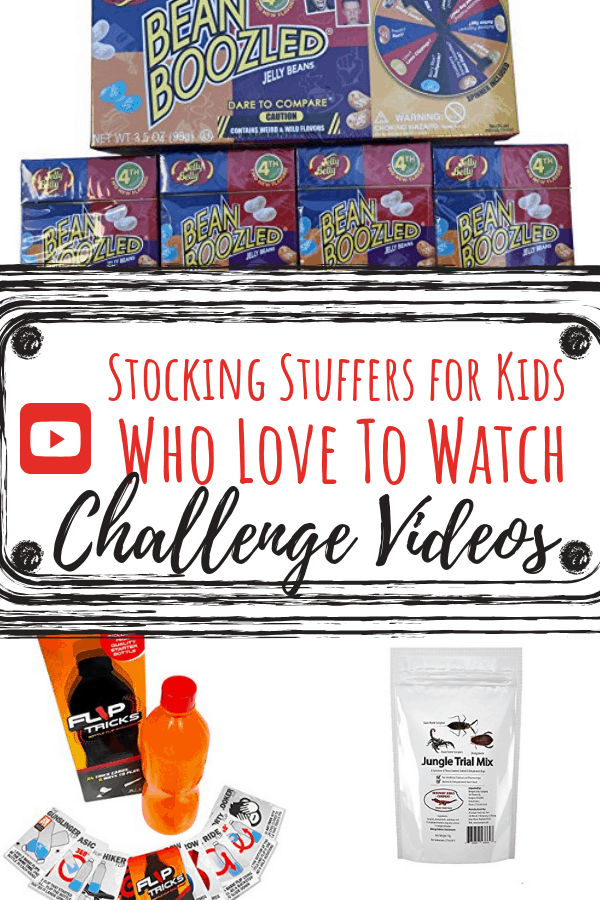 Stocking Stuffers for Kids who like unboxing and challenge pin 4