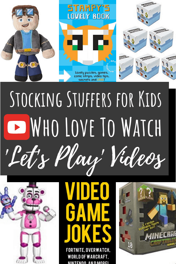 Stocking Stuffers for Kids who like unboxing and gaming pin 3