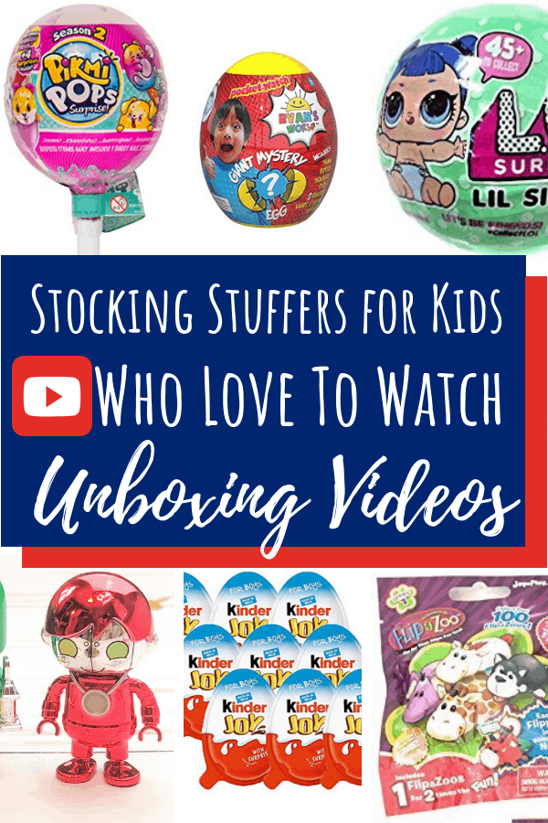 Stocking Stuffers for Kids who like unboxing pin 2