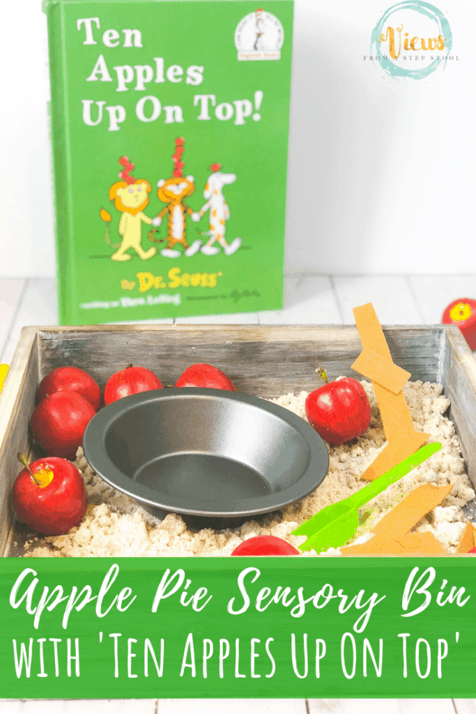 apple pie sensory bin pin 2