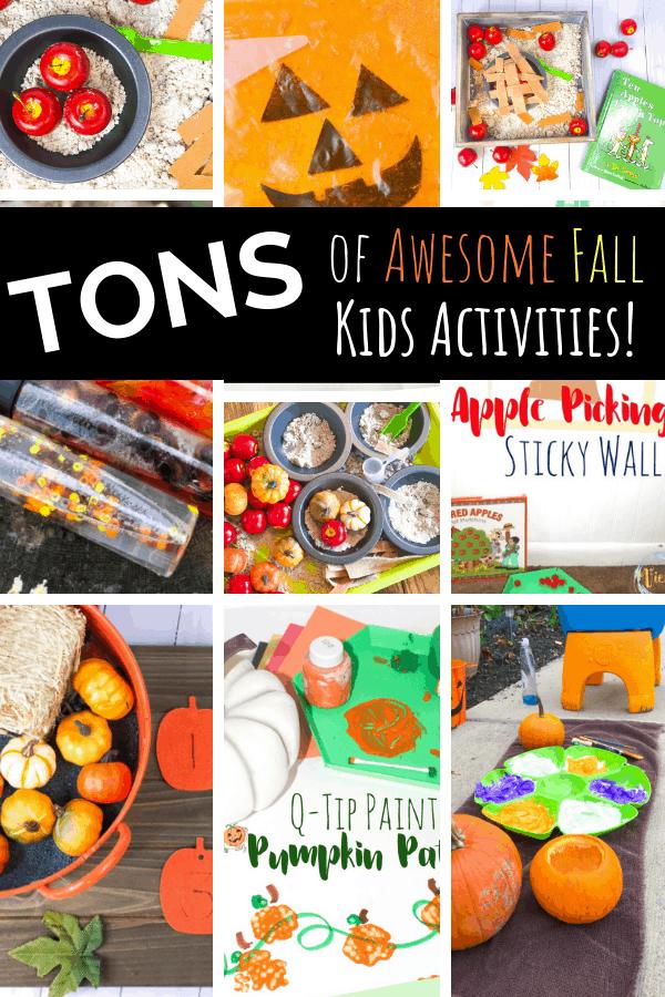 fall kids activities pin