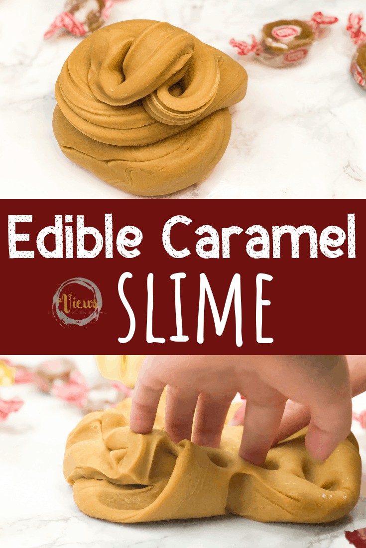 3-Ingredient Edible Caramel Slime