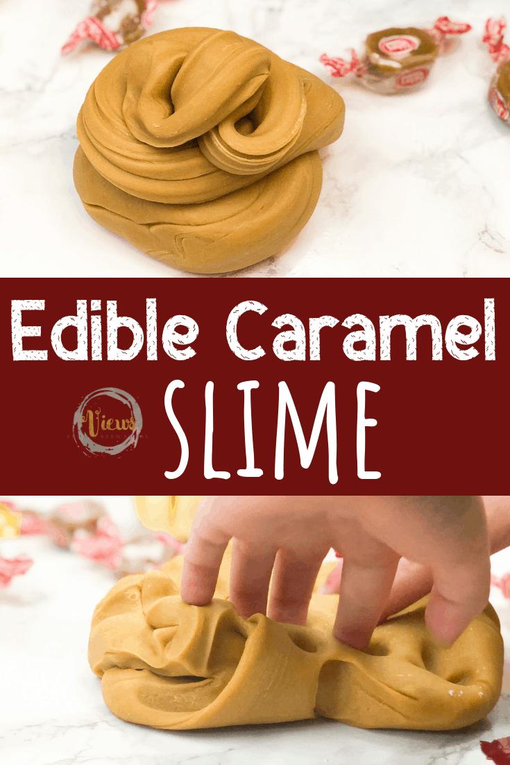 3-Ingredient Edible Caramel Slime