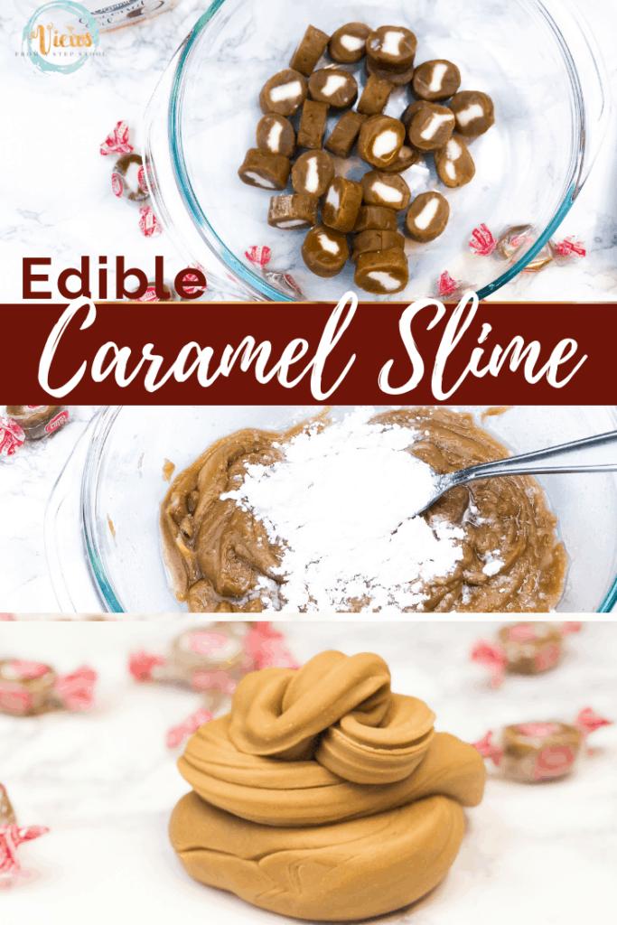 edible caramel slime pin 3 new