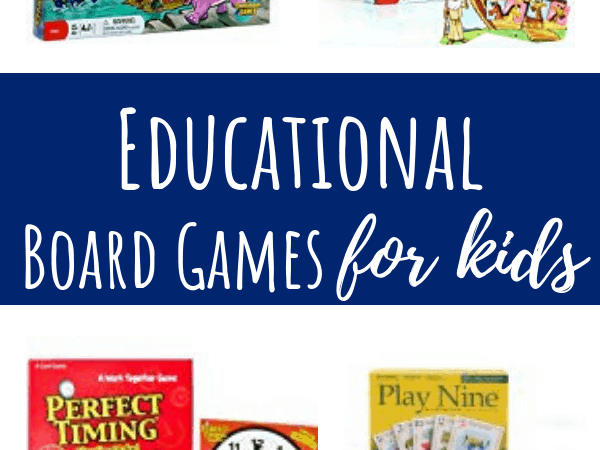 Educational Board Games for Competitive or Cooperative Play
