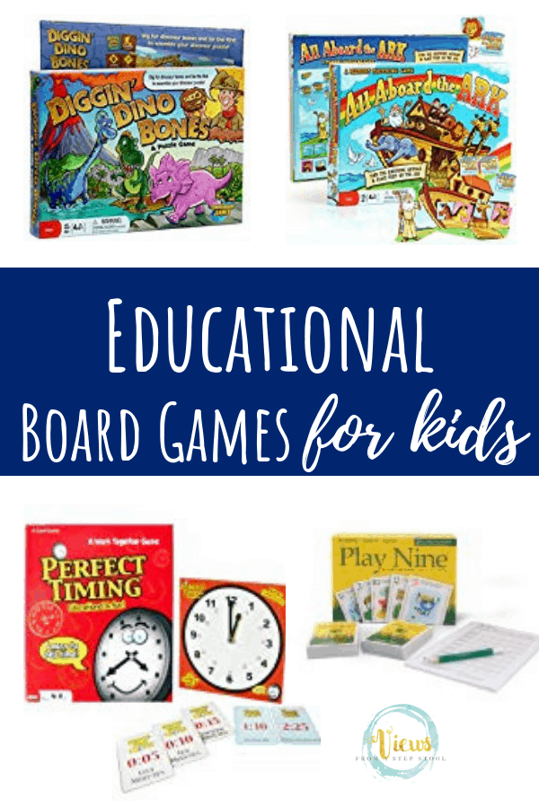 educational board games pin