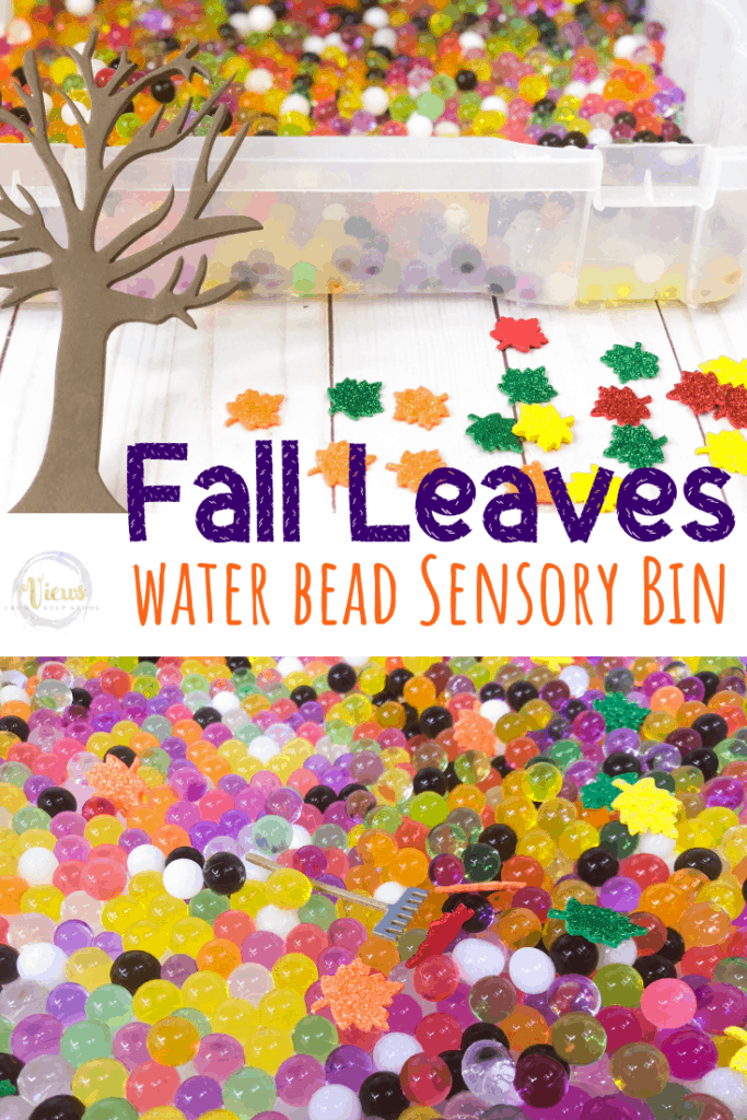 fall leaves sensory bin pin 1-2