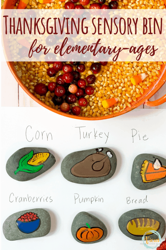 thanksgiving sensory bin elementary pin