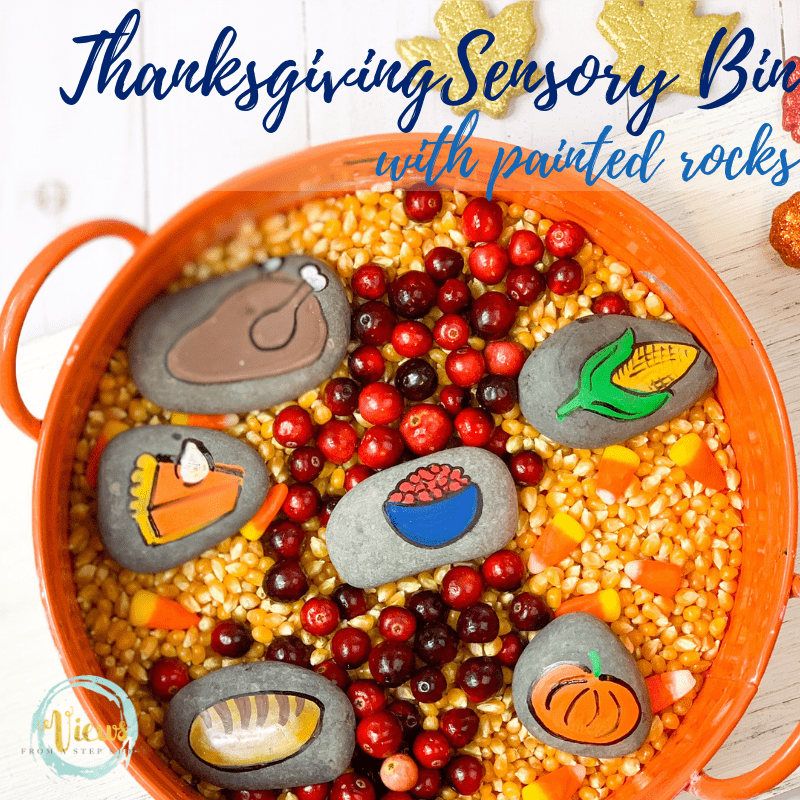 thanksgiving sensory bin square