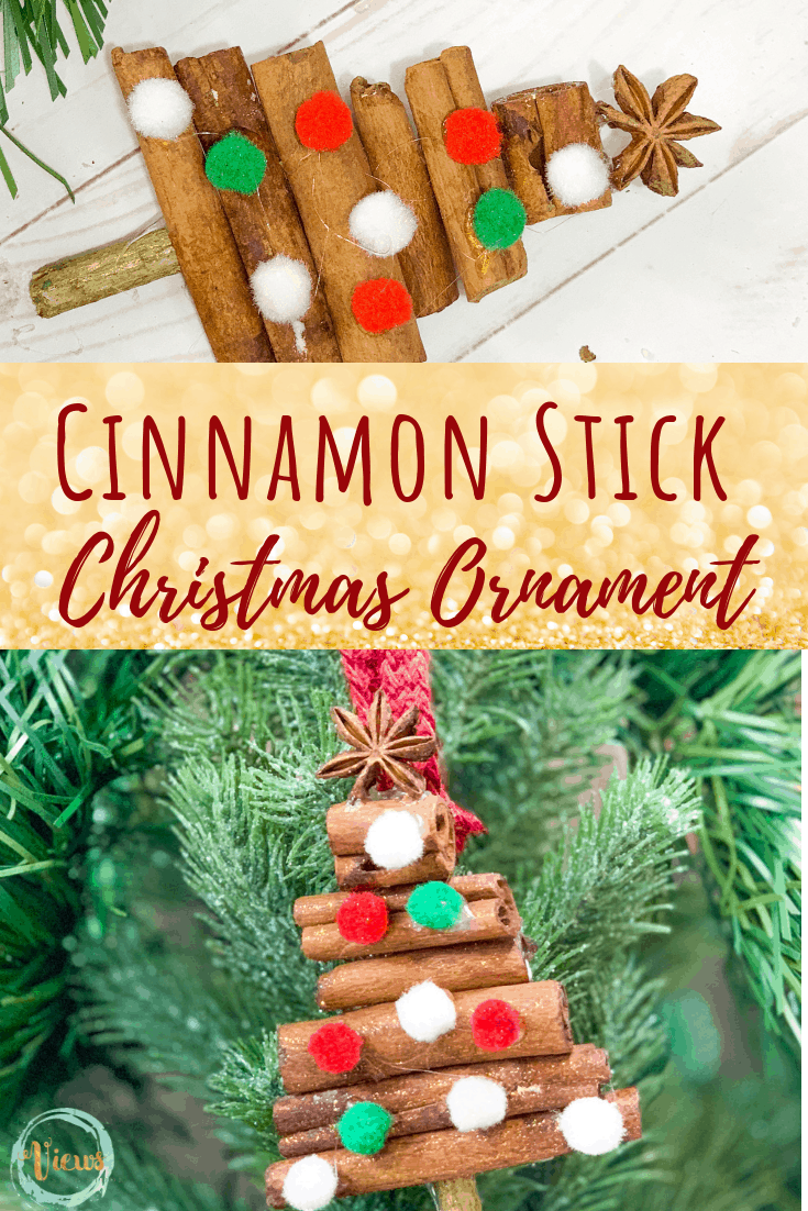 DIY Cinnamon Stick Ornament