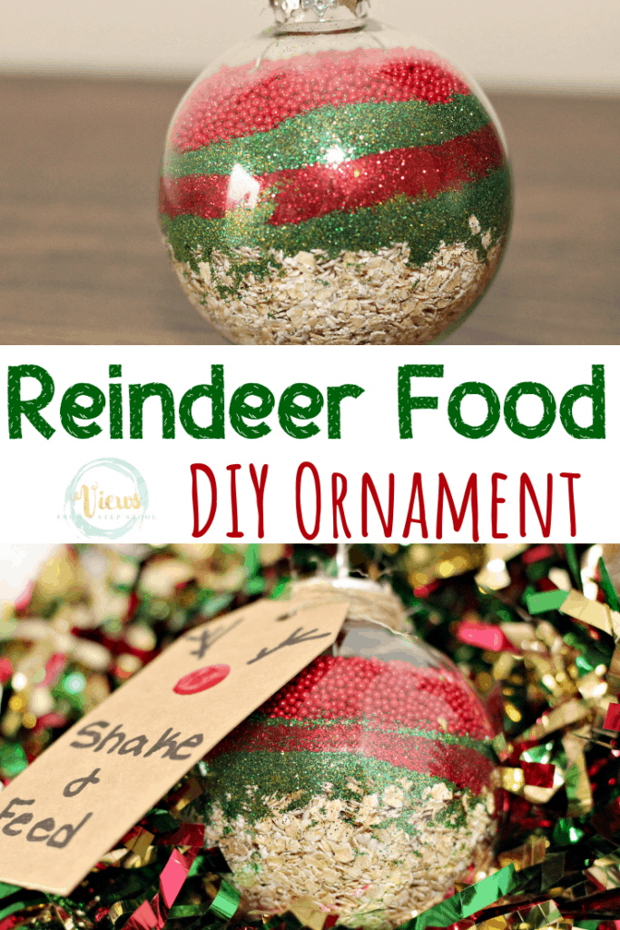 reindeer food ornament pin 2