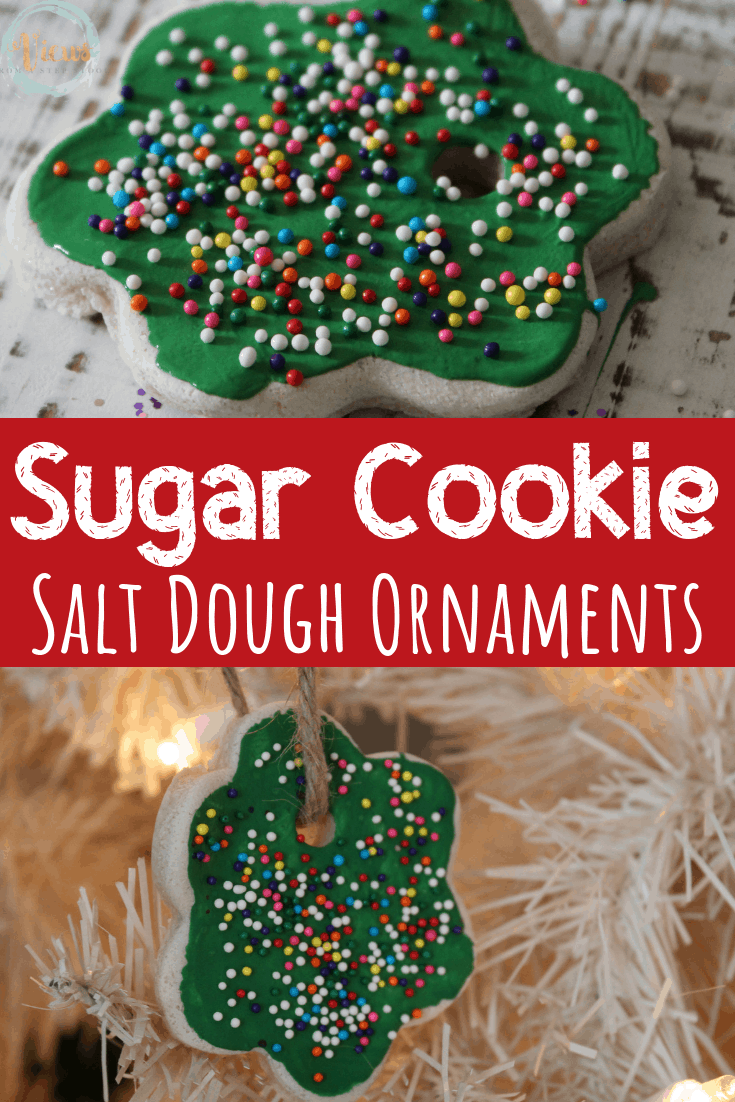 Sugar Cookie Salt Dough Ornaments
