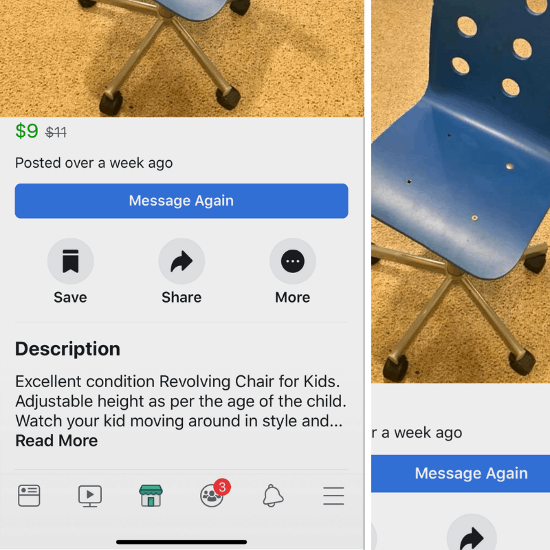 upcycled present Facebook Marketplace 13