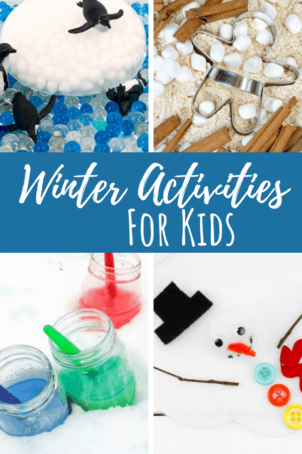 Winter Activities pin 1