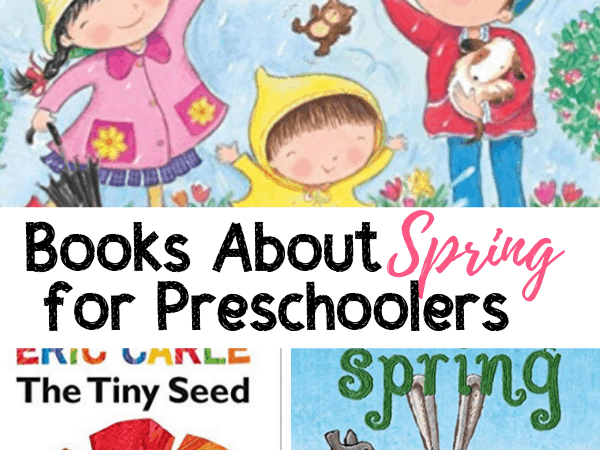 15 Books About Spring for Preschoolers