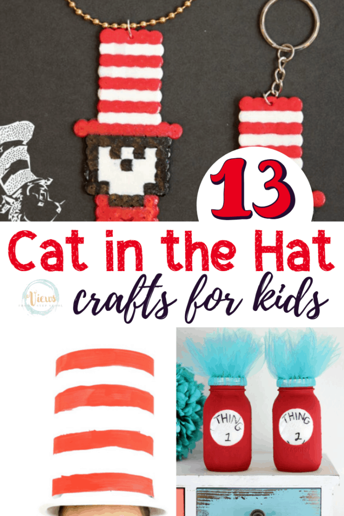cat in the hat crafts pin 2