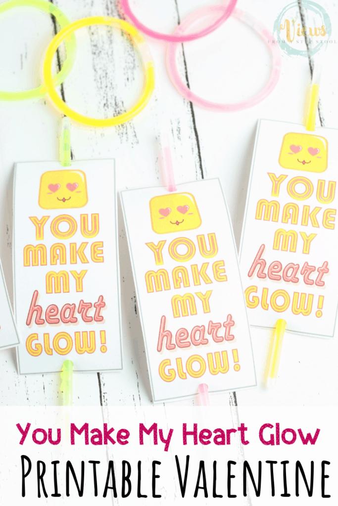 glow stick valentine pin 2