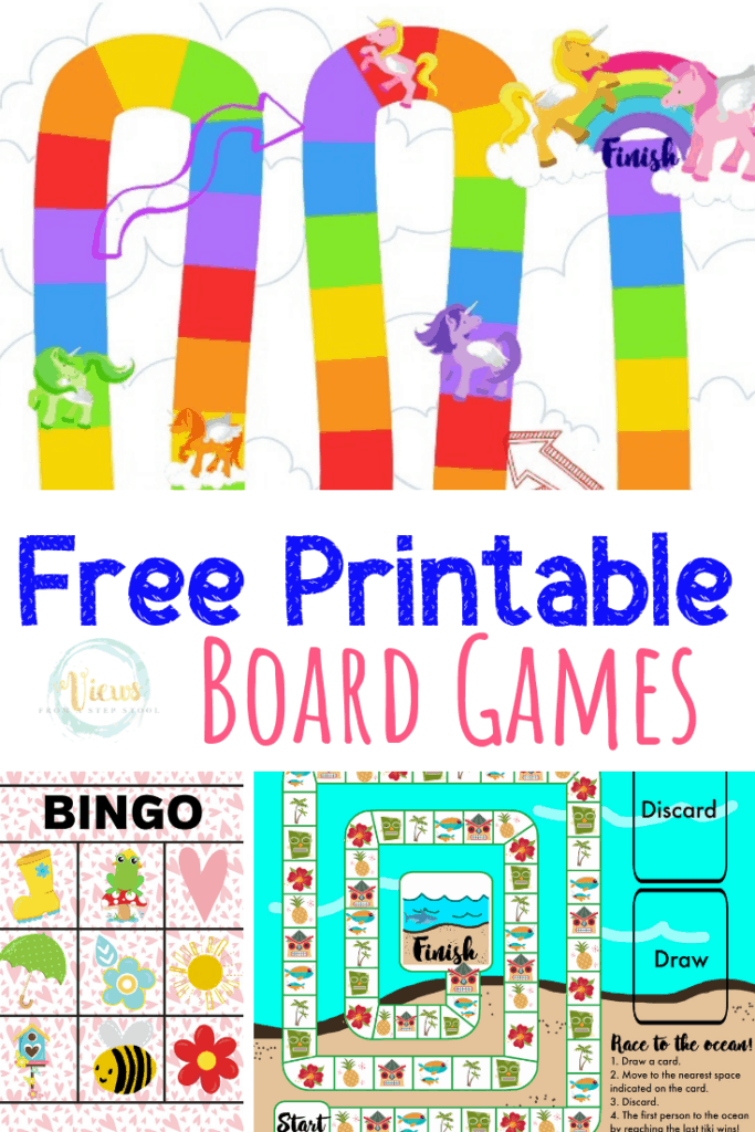 It's just a graphic of Fabulous Board Game Printable