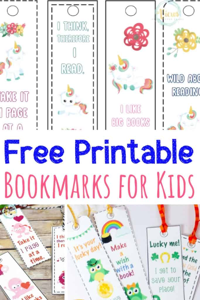 printable bookmarks for kids pin 1