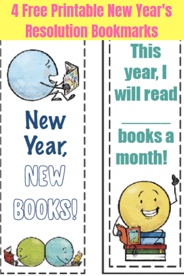 printable bookmarks new years pin 2