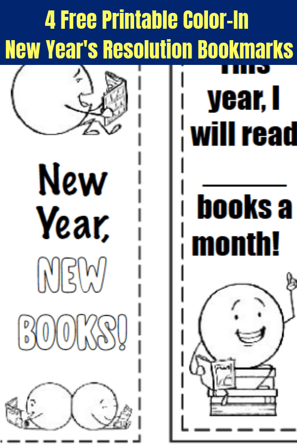 picture regarding Printable Bookmarks Black and White called Absolutely free Printable Bookmarks: Contemporary Several years Looking at Resolutions