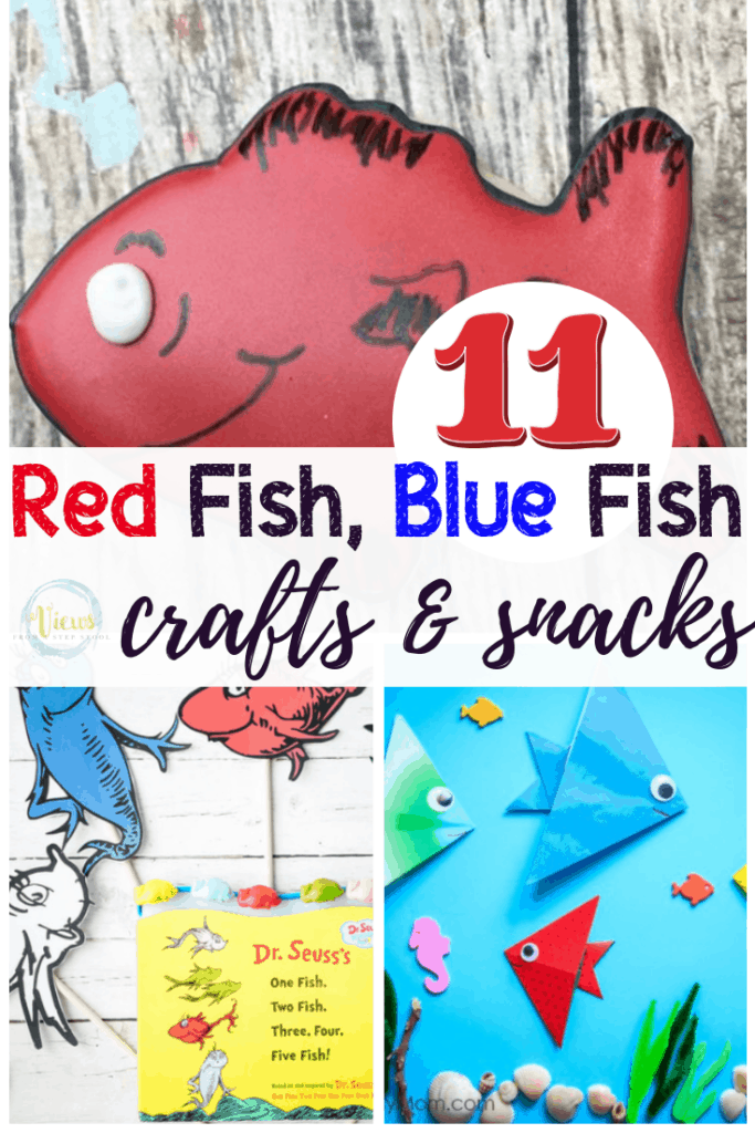 red fish blue fish crafts pin 2