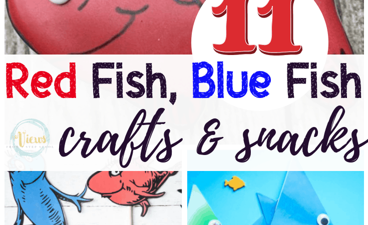 11 Fun Red Fish Blue Fish Crafts & Snacks