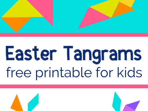 Printable Tangrams for Easter