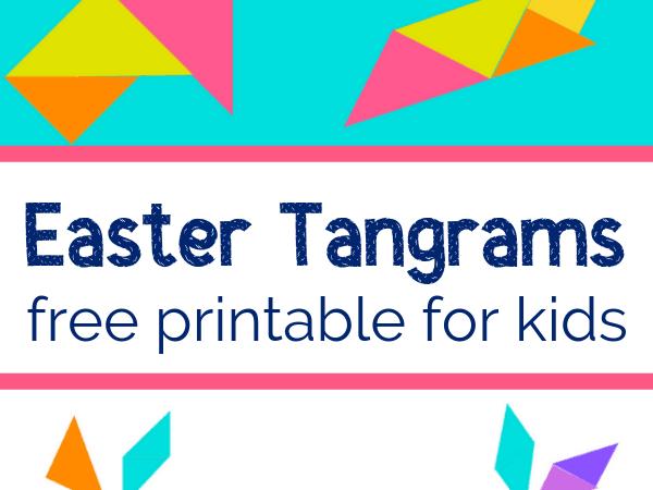 Printable Tangrams for Easter