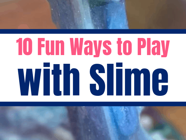 Sensory Games Using Homemade Slime