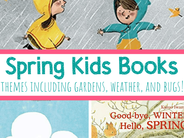 15 Spring Kids Books